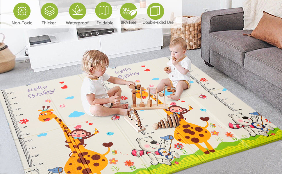 Bammax Baby Mats are designed for your babies.