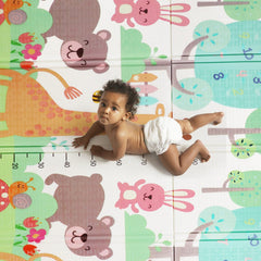 Baby Giraffe Bear Game Playmat