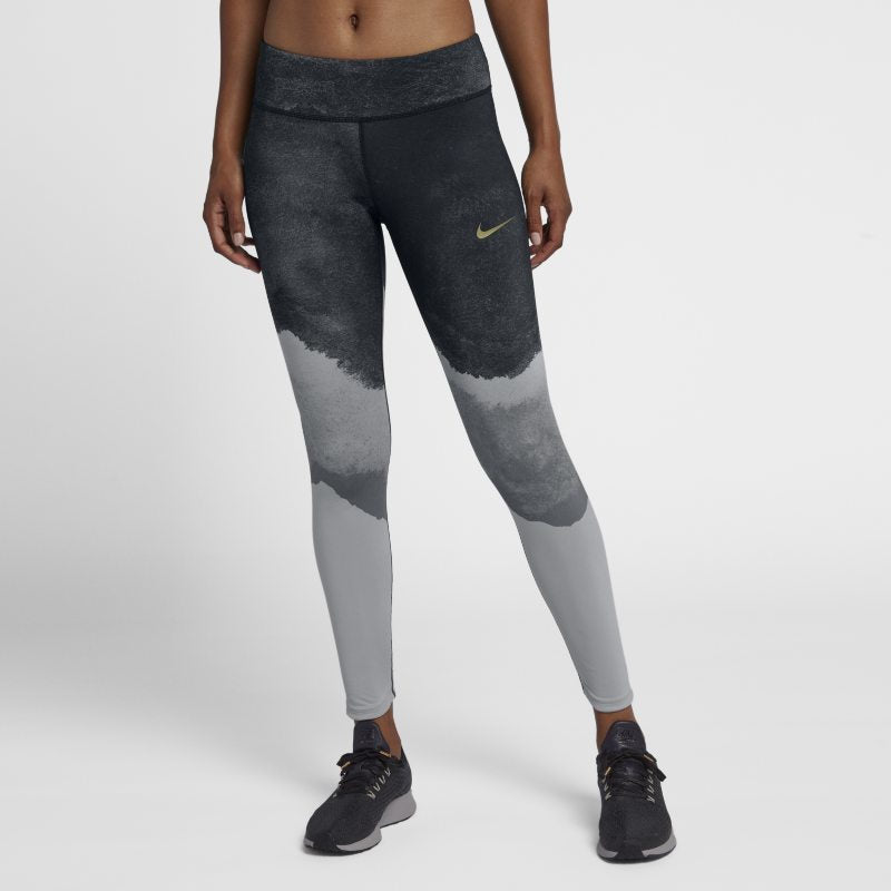 Womens NIKE POWER Epic Lux Flash Running Tights     931909-012