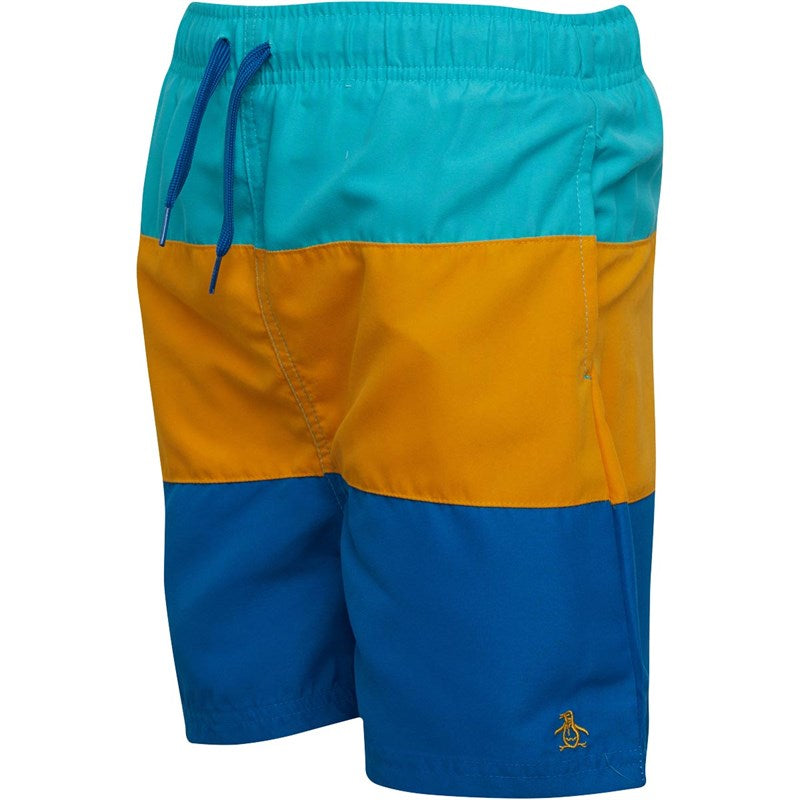 Boys Original Penguin Swimshorts   7-8 yrs