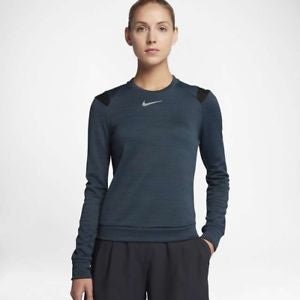 Womens NIKE GOLF THERMA-SPHERE Long Sleeved Top Size Medium  855247-454