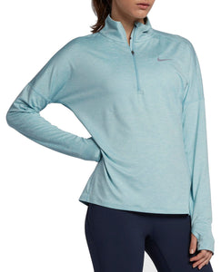 Womens Nike Element 1/2 Zip Long-Sleeve Running Top  Size Large 855517-452