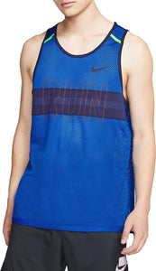 Mens Nike Wild Run Mesh  Training Tank Medium  BV5560-480