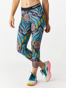 Womens NIKE PRO Printed Cropped Training Tights.    BV2975