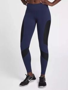 Item: Women's NIKE POWER Pocket Lux Mid Rise Full Length Training Tights  890668-429