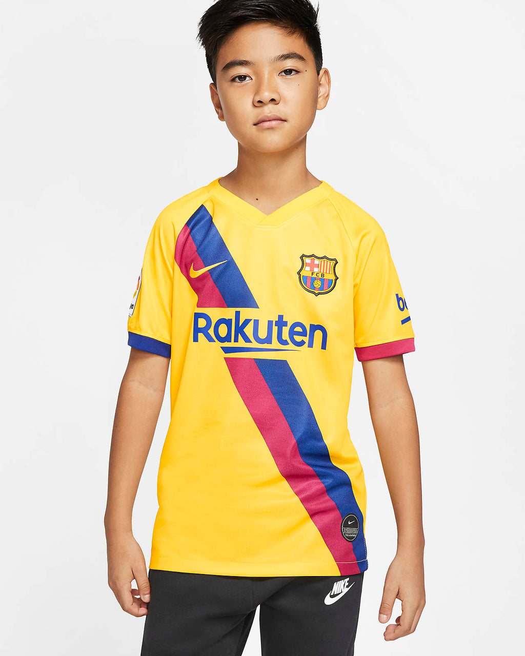 Nike Junior FC Barcelona Away 19/20 Shirt    Medium 10-12yrs.  .   AJ5800-728