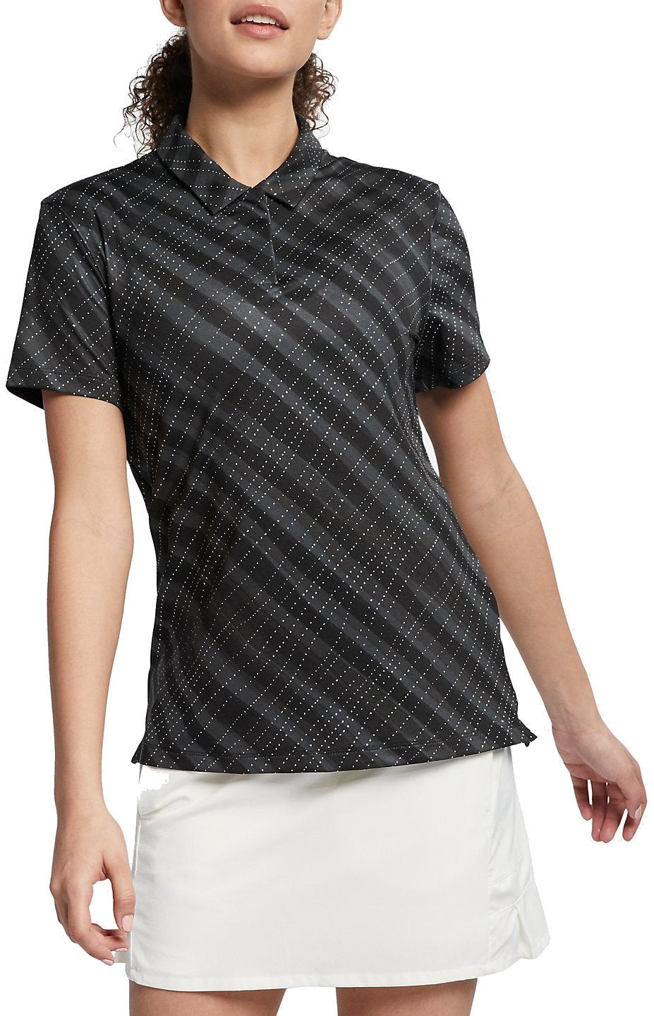 Women's Nike Golf Printed Polo Shirt.     AJ5337-010