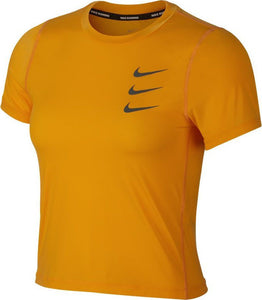 Womens  NIKE RUN DIVISION Cropped Utility Top.     AO4098-833
