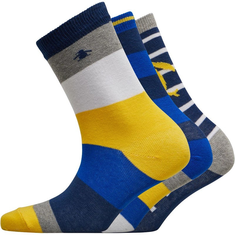 Original Penguin Junior Socks. 3 Pack