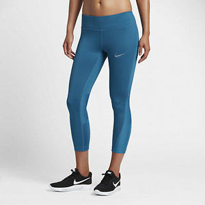 Women's Nike Power Racer Running Capri Pants.  855144-457