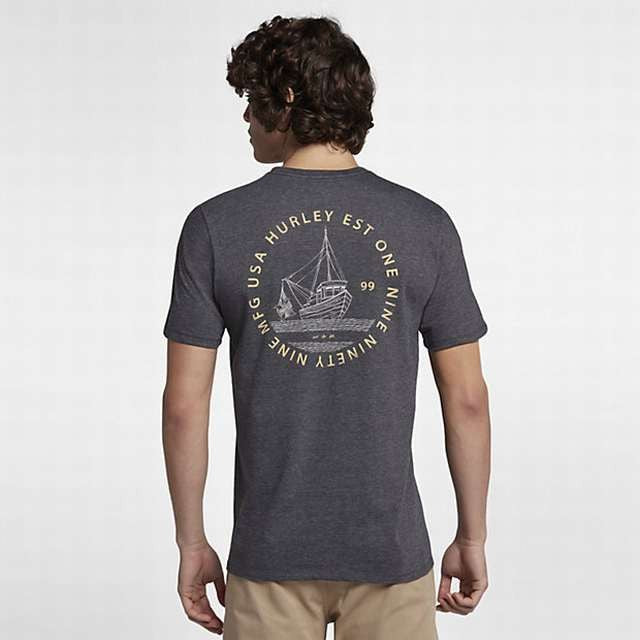 Mens NIKE HURLEY Out To Sea T-Shirt  AO4767-032