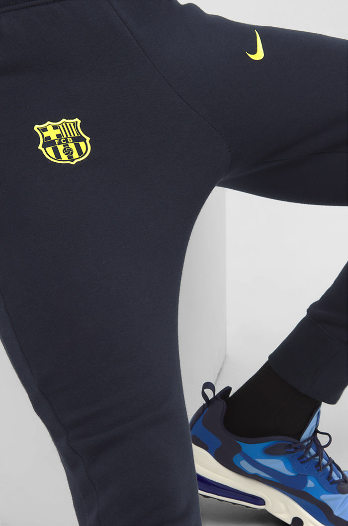 Men's Nike FC Barcelona Fleece Pants    AT4447-475