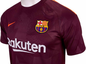 Nike Junior Dry Barcelona Training Shirt.       847385-683
