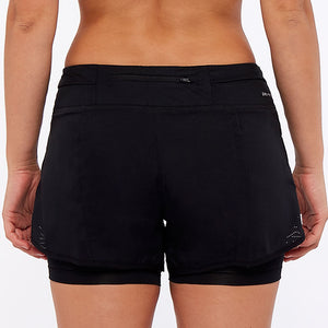 Ladies NIKE RIVAL FLEX RUNNING 2 in 1 Shorts        831552-011