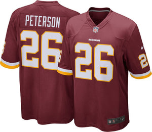 NIKE NFL Youth Washington Redskins Adrian Peterson Shirt.