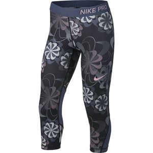 Girls Nike Pro Tight Fit Capri.        938996-010