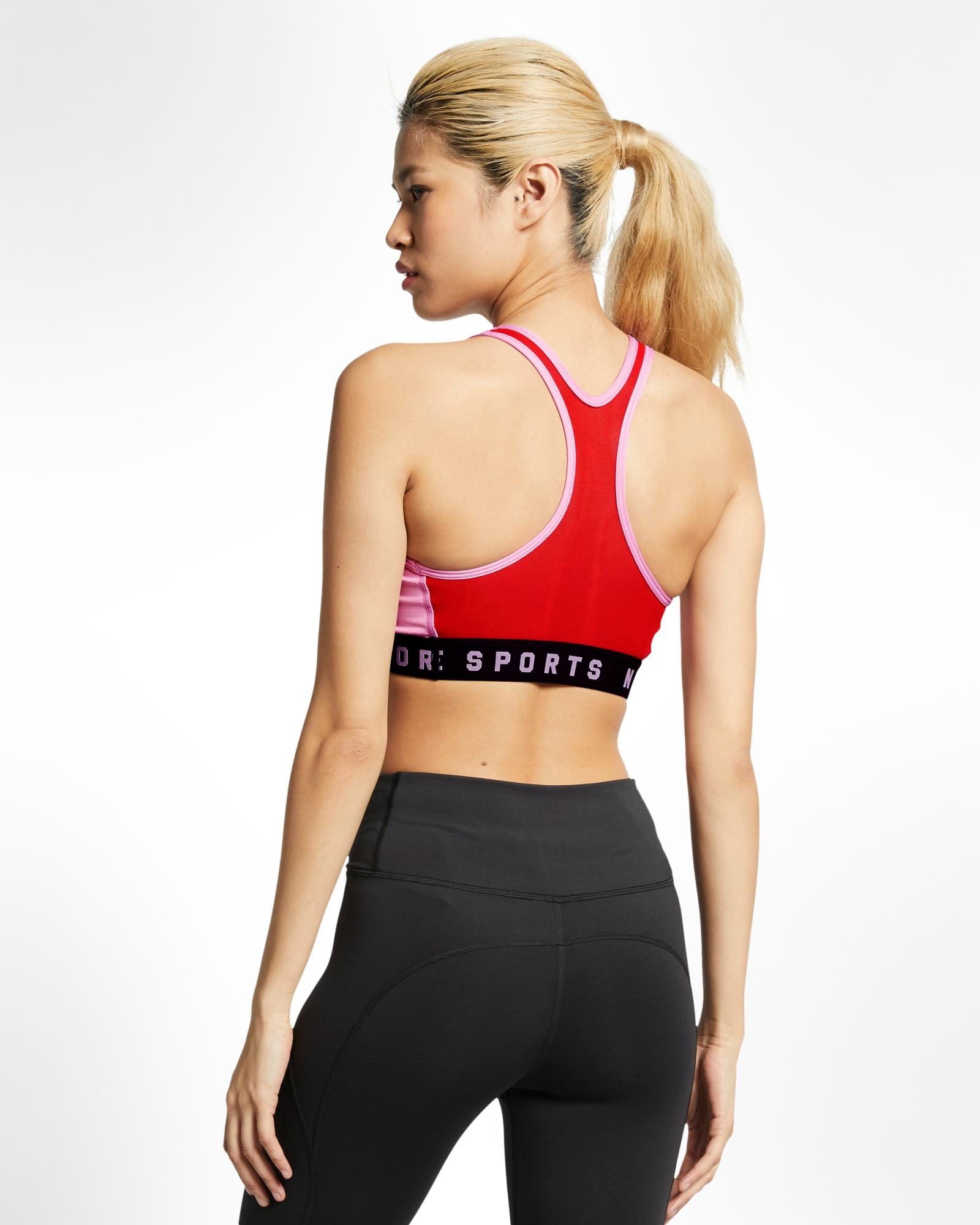 Womens Nike Swoosh  Medium Support Sports Bra.     AT1764-629