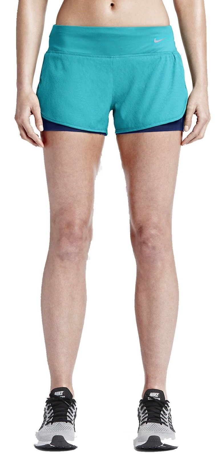 "Women's Nike Rival Jacquard Running 2 in 1 3"" Shorts"