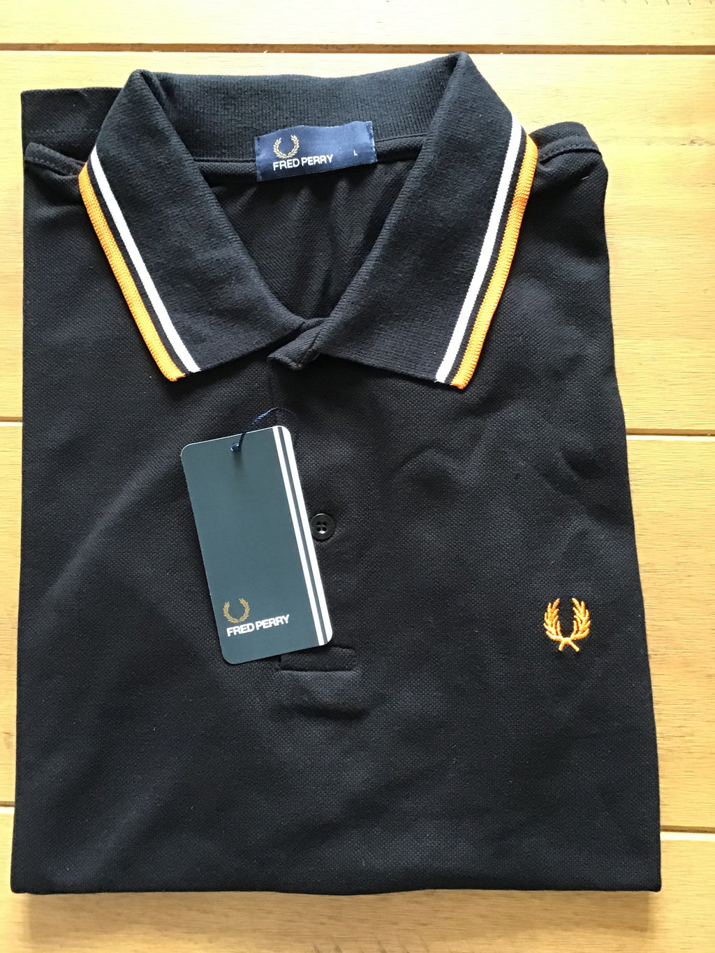 Men's Fred Perry Twin Tipped Polo Shirt  Slim Fit