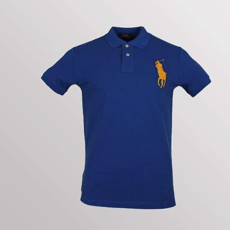 Mens Ralph Lauren Custom Fit Polo Shirt   Big Pony
