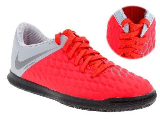 NIKE JR. Hypervenom 3 Club IC    Indoor Court.      AJ3789-600
