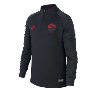 Junior Nike AS Roma 1/4 Zip Strike Training Jacket.    CT3726-010