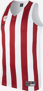 Mens Nike Olympiacos BC Basketball Replica Jersey     883426-100