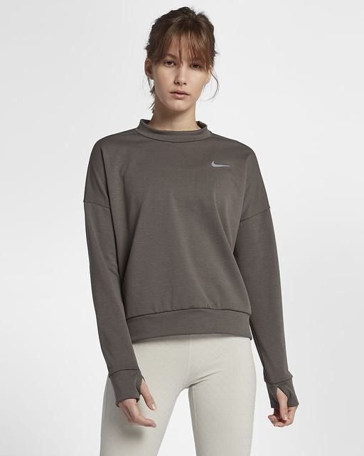 Womens NIKE THERMA-SPHERE ELEMENT Crew Top Long Sleeved   943520-202