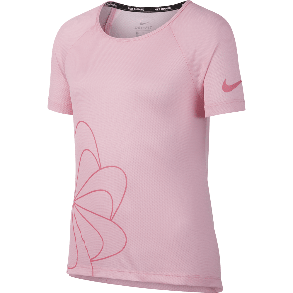 Girls Nike Dry Graphic Running Shirt