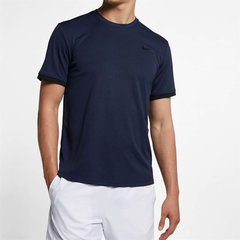 Men's Nike Court Tennis Crew Shirt.    2XL.  939134-451