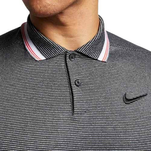 Men's Nike Golf Dry Vapor Stripe Polo    AT8900-010