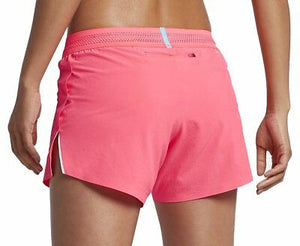 "Women's NIKE AEROSWIFT 4"" Racer Running Shorts Dri Fit  898270-617"