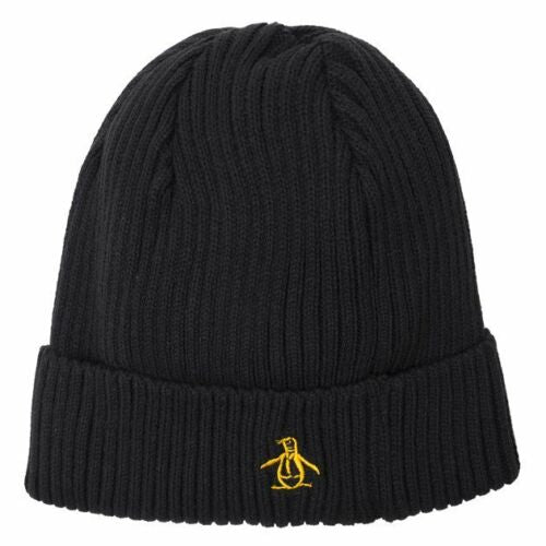 Original Penguin Basic Rib Beanie Hat - Adult Unisex