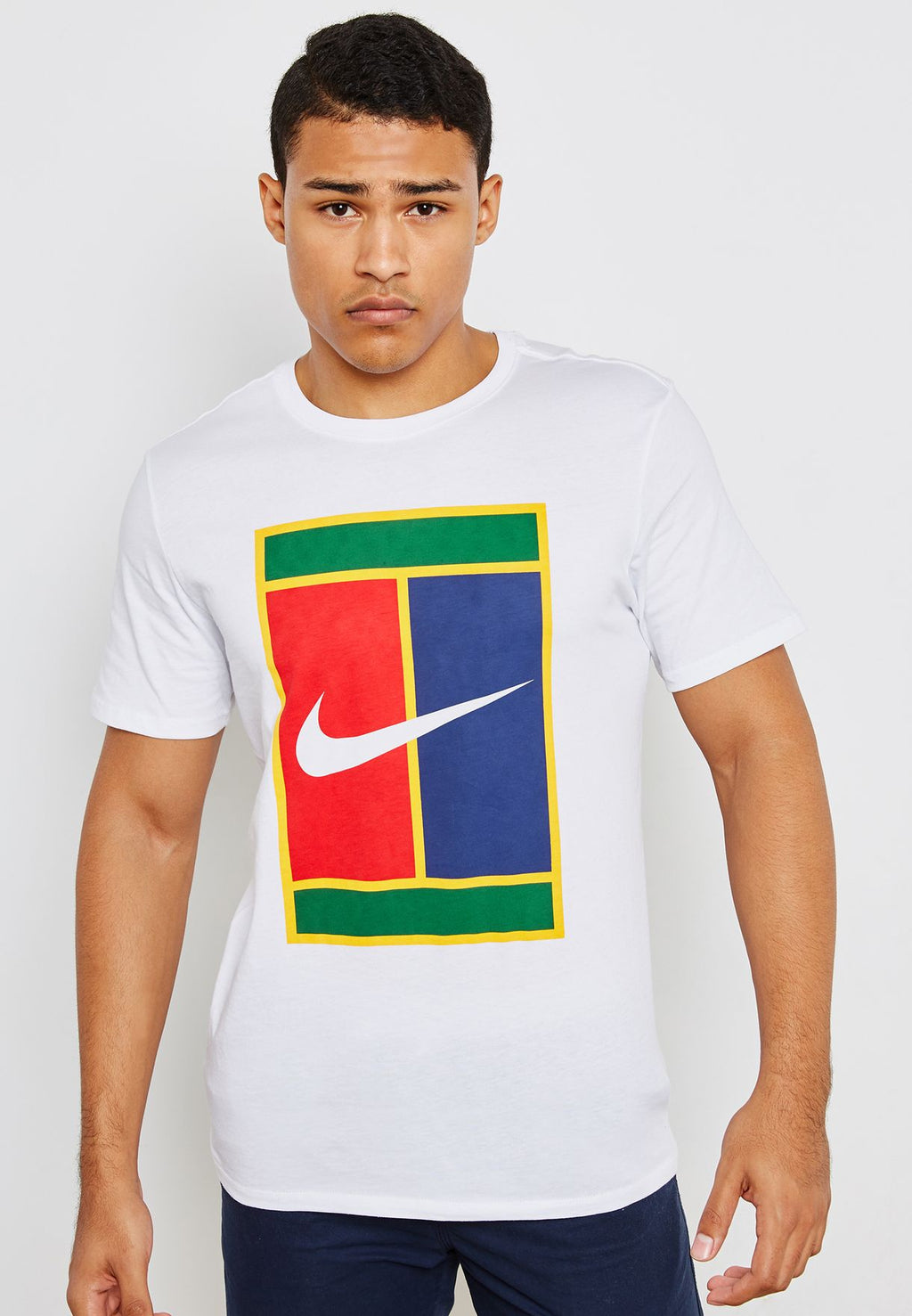 Men's Nike Heritage Logo Tennis Shirt.    943182-100