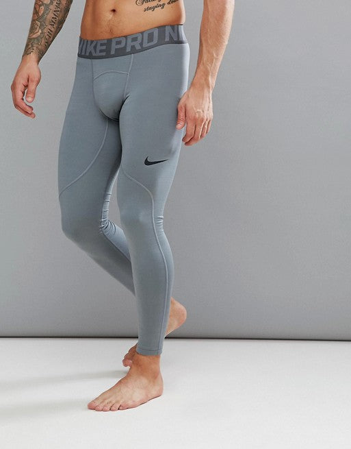 Men's Nike Pro Warm Compression Tights.      838038-065