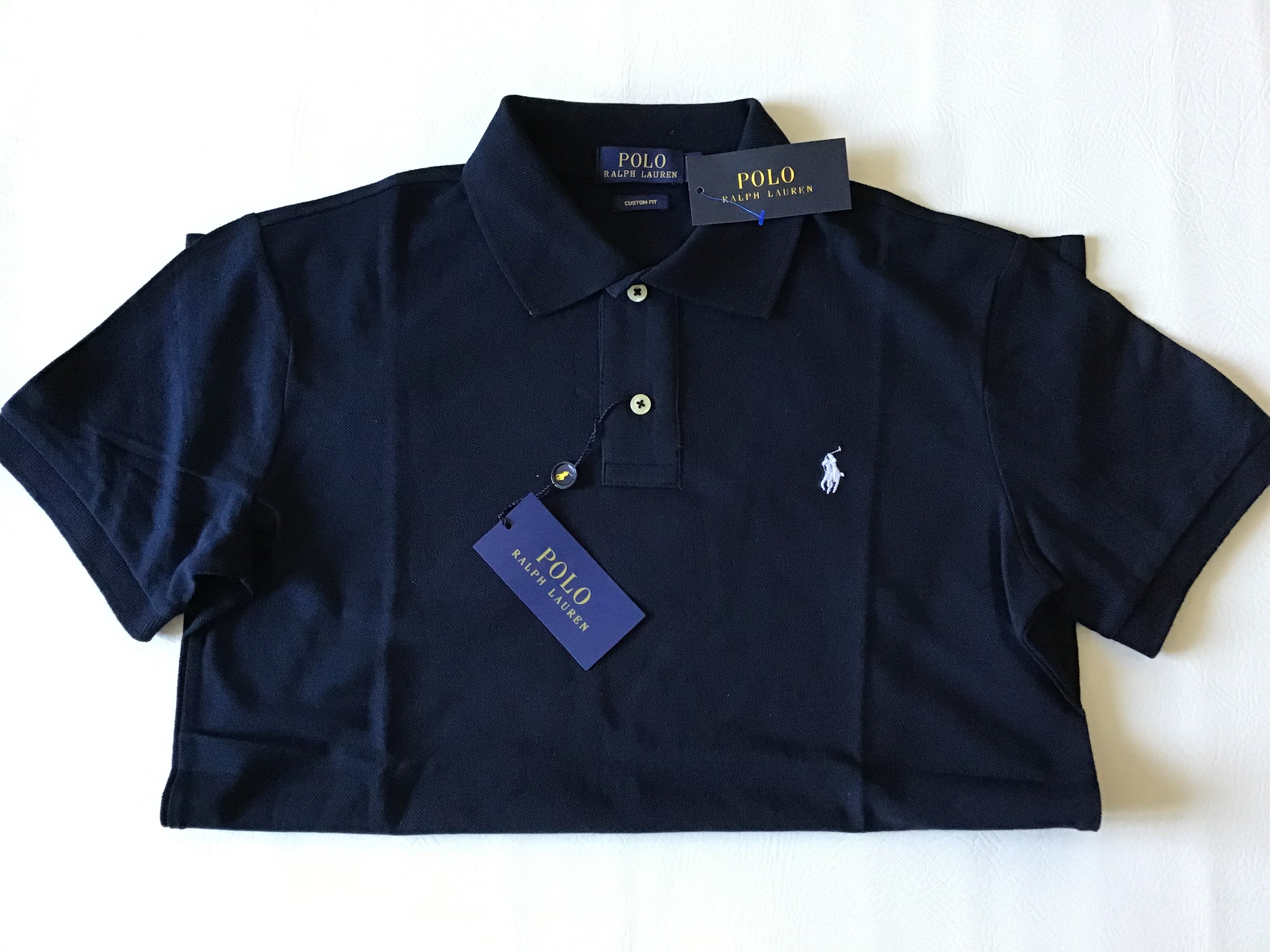 Ralph Lauren - Men's Custom Fit Polo Shirt.