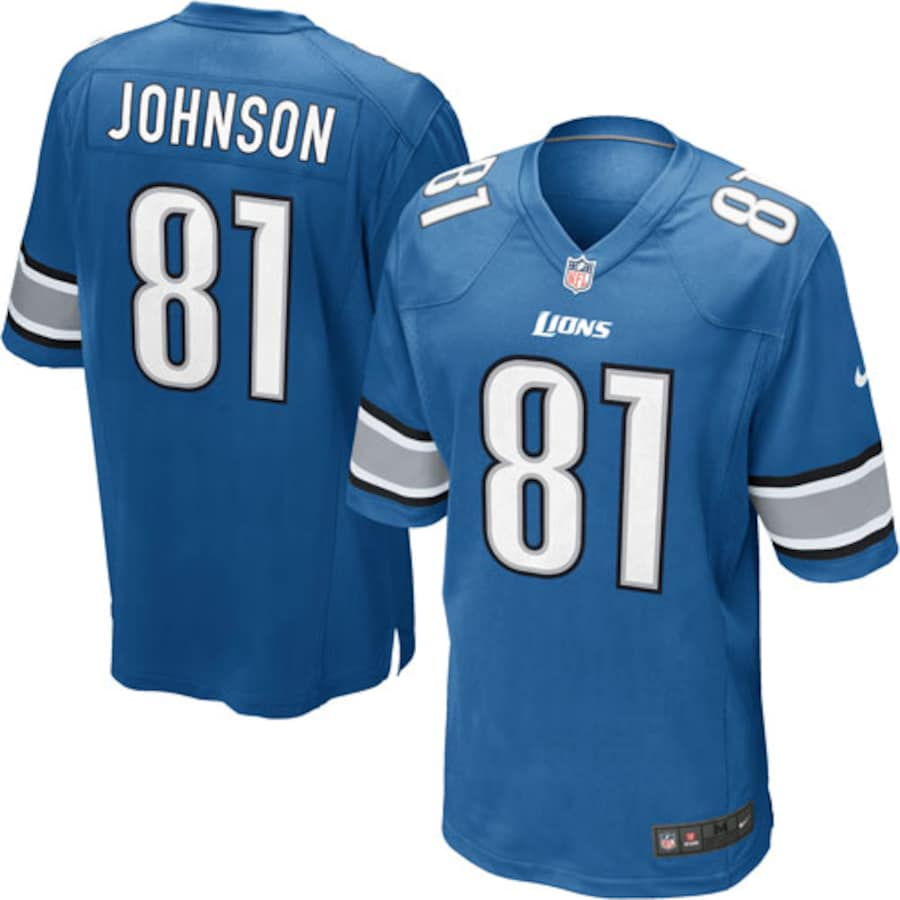 Nike Youth NFL Calvin Johnson Detroit Lions Shirt