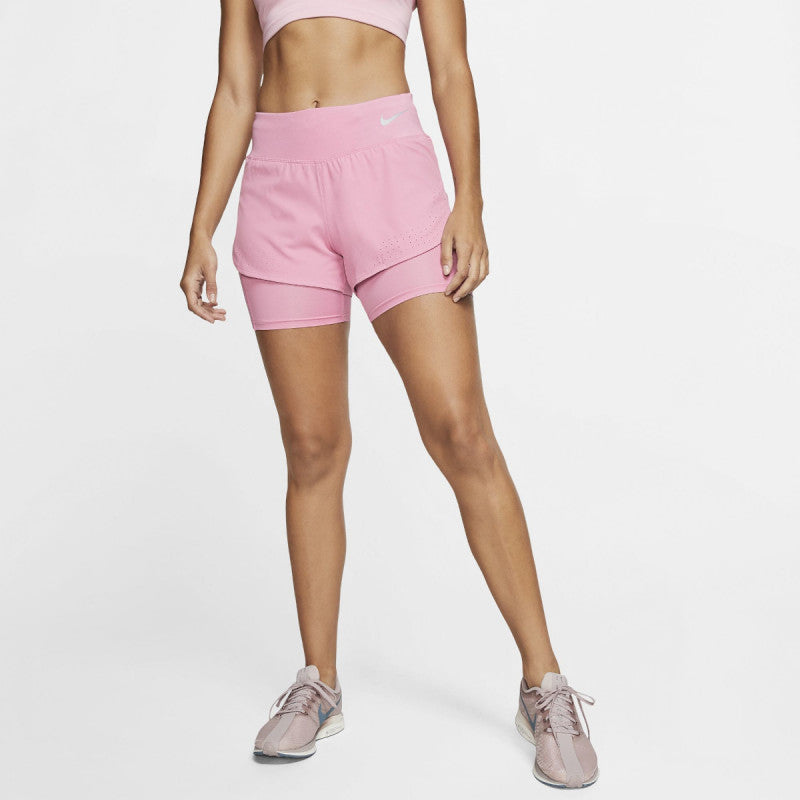 "Womens NIKE Flex Eclipse 2 in 1 Running Shorts Size  (3"") AQ5420-601"
