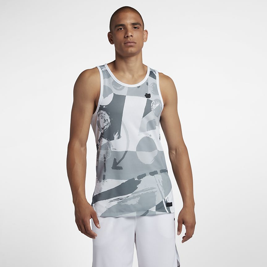 Mens NIKE KD Hyper Elite Basketball Tank   926264-043