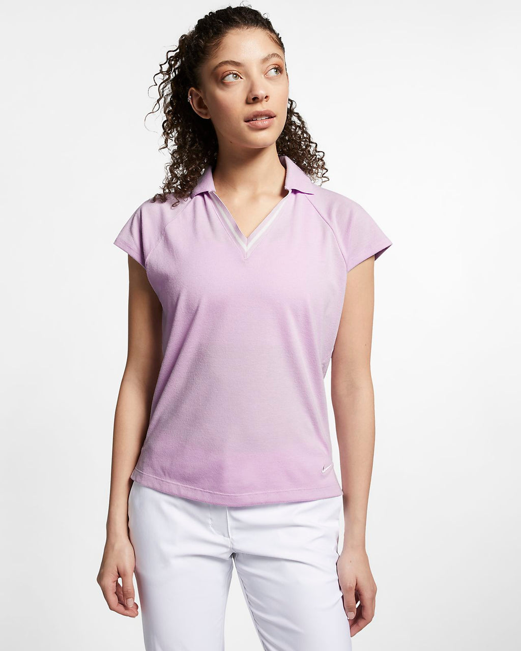 Women's Nike Golf Polo Shirt.     AV3654-543