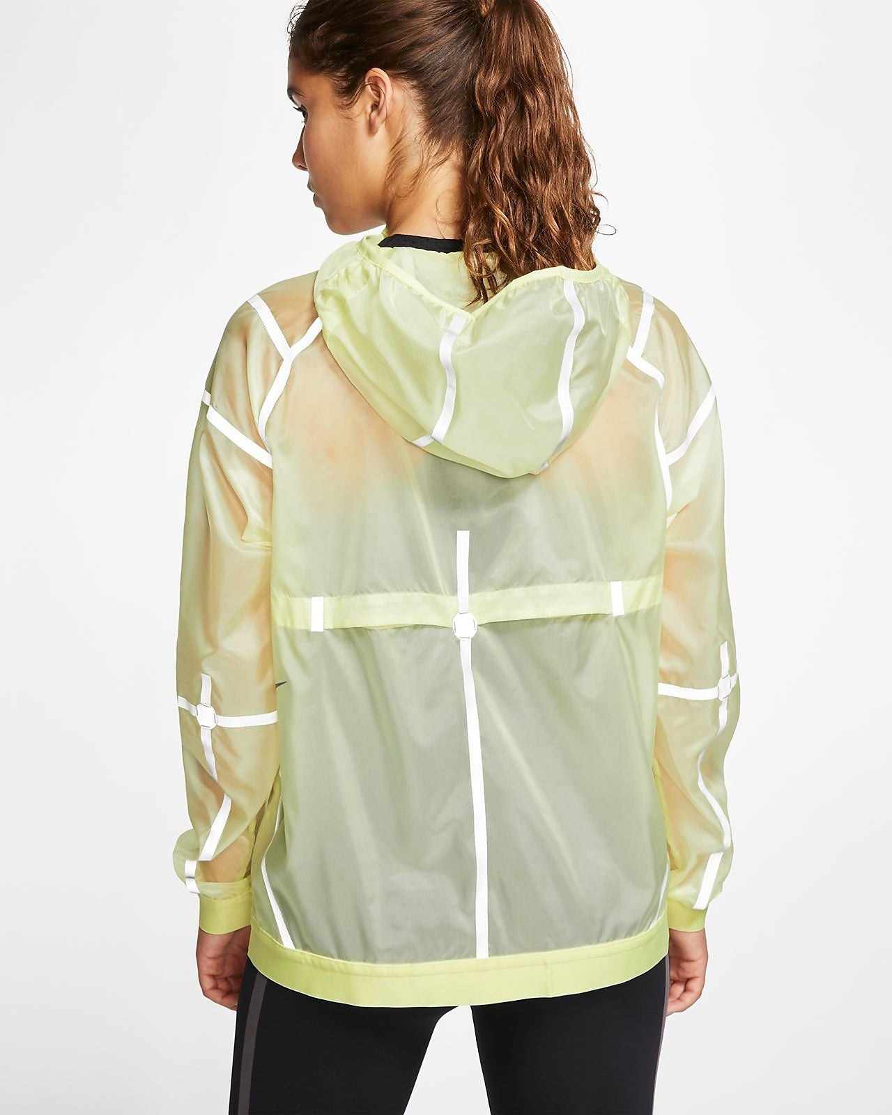 Women's NIKE City Ready Hooded Running Jacket.   BV3828-335