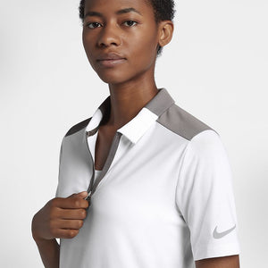 Ladies Nike Golf Zonal Cooling Polo Top.    929505-100