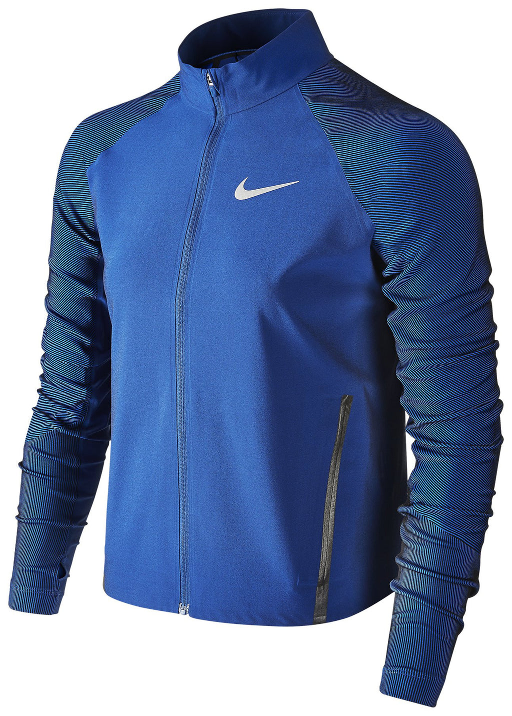 Women's  Nike Twill Stadium Running Jacket Size Medium 822552-451