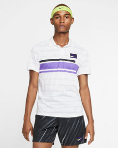 Men's Nike Court Dry Advantage Tennis Shirt.     AT4158-100