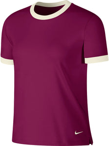 Womens Nike Golf DRY Ringer Shirt.       AV3659-627