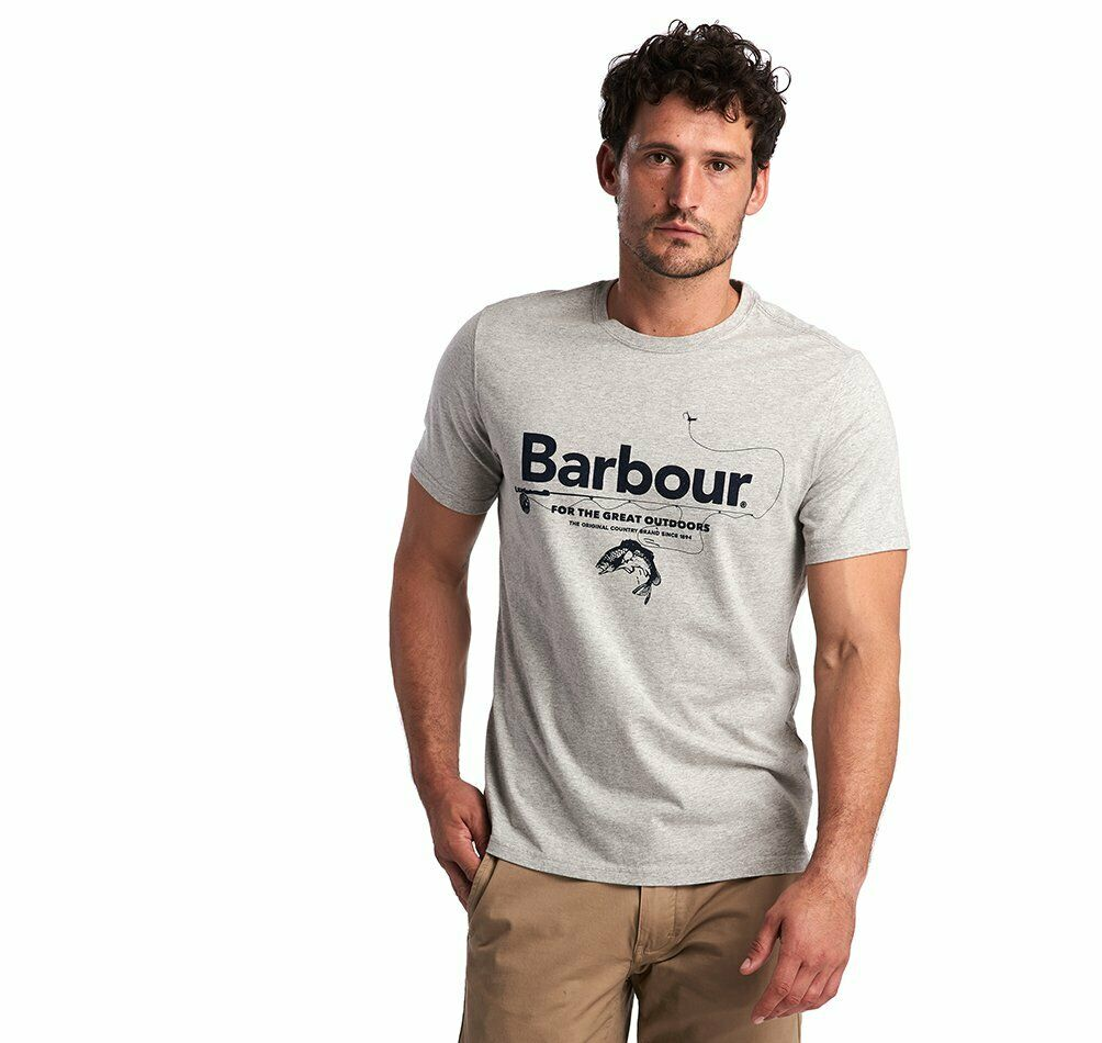 Mens Barbour Outdoor T- Shirt    MTS0676GY52