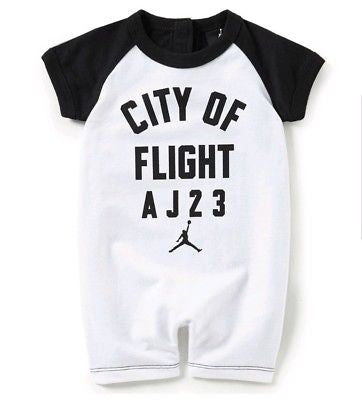 Infants Nike Air Jordan 24 T Romper    6-9 months      HA3963-101