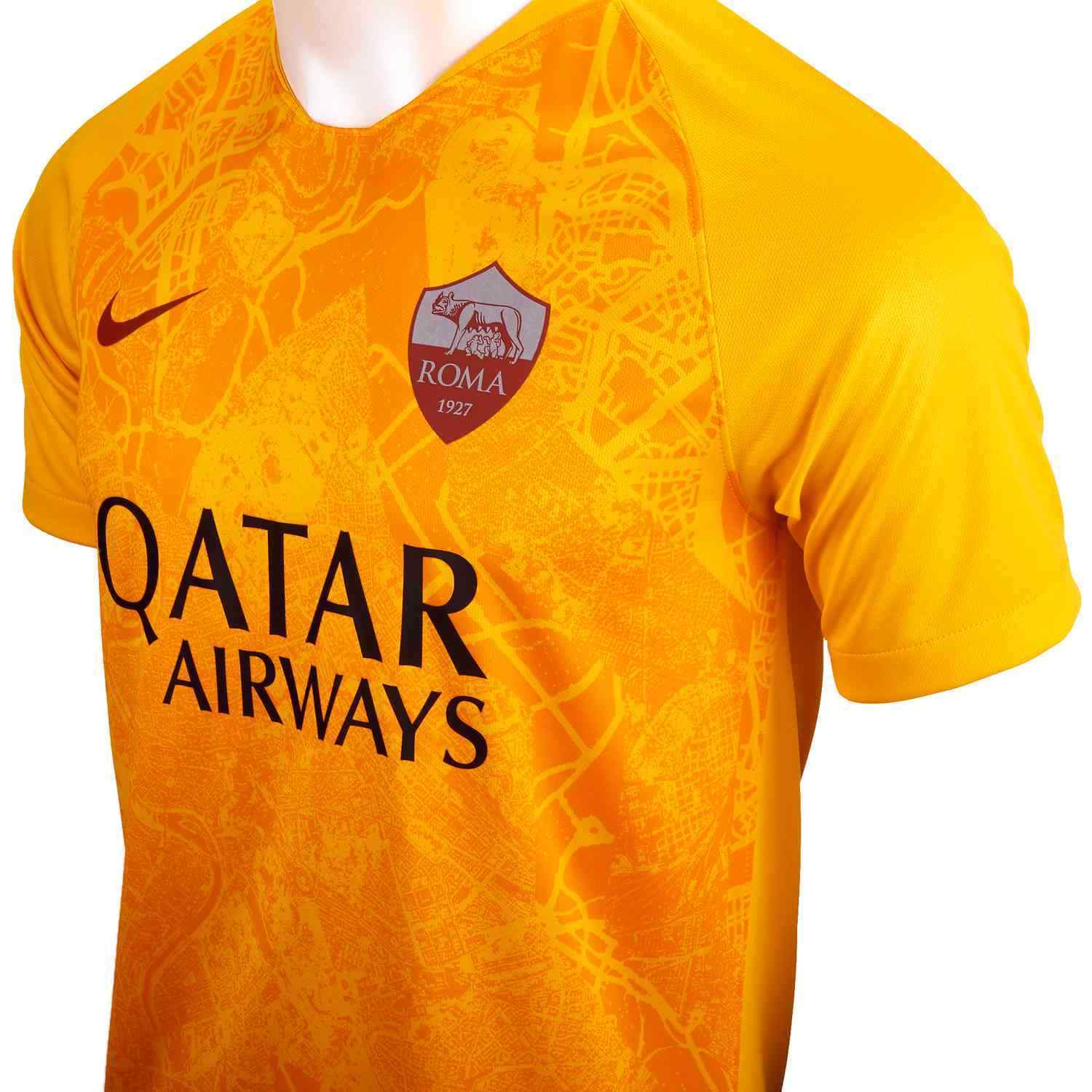Mens Nike FC Roma Football Top Third kit 2018/19     919018-740