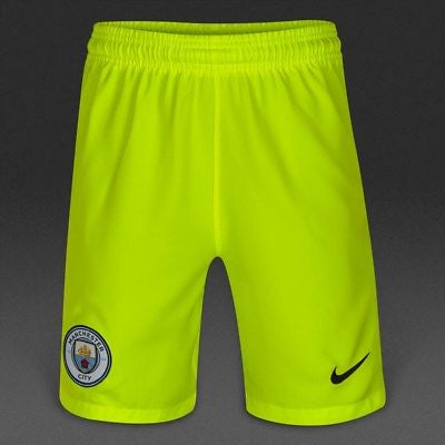 Nike Youth Manchester City GK Shorts.     777053-702