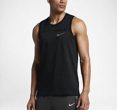 Men's Nike Elite Basketball Tank.     893779-010.